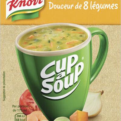 Knorr cup a soup soupe douceur de 8 légumes 48g 3 sachets (Knorr)