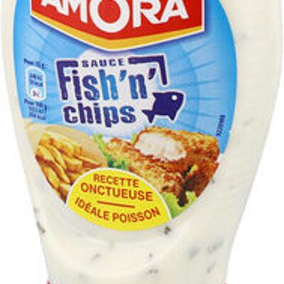 Amora sauce fish'n'chips flacon souple 251g (Amora)