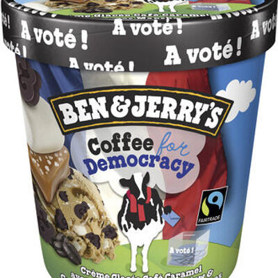 Ben & jerry's glace pot coffee for democracy 500ml (Ben & jerry's)