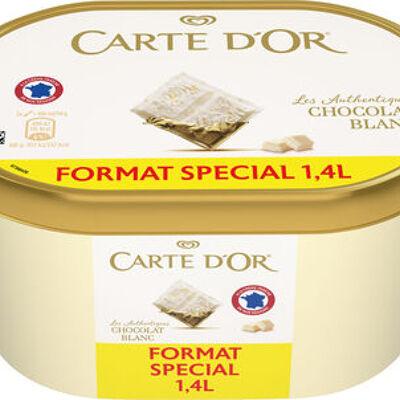Carte d'or les authentiques glace chocolat blanc 1.4l (Carte d'or)