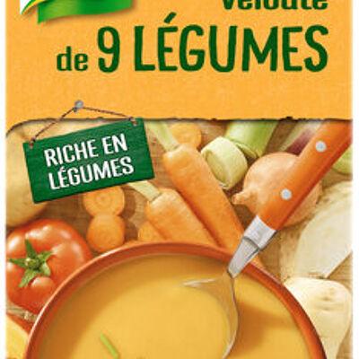 Knorr soupe liquide velouté de 9 légumes 1l (Knorr)