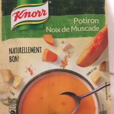 Knorr soupe potiron noix de muscade 64g 2 portions (Knorr)
