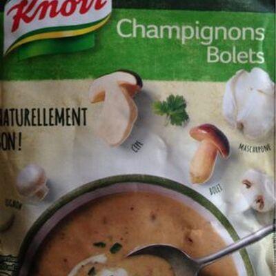 Knorr soupe champignons bolets 57g 2 portions (Knorr)