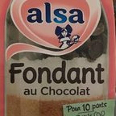 Préparation pour fondant au chocolat (Alsa)