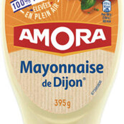 Amora mayonnaise dijon nature œufs français flacon souple 685g (Amora)