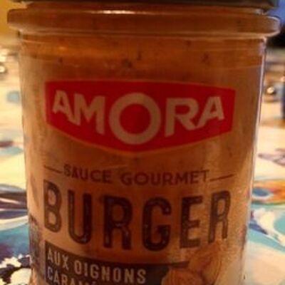 Amora sauce burger aux oignons caramélisés 188g (Amora)
