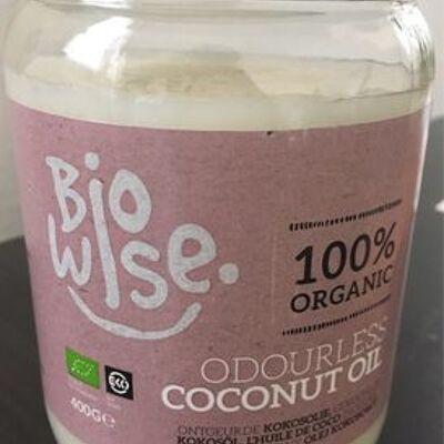 Huile de coco inodore (Bio wise)