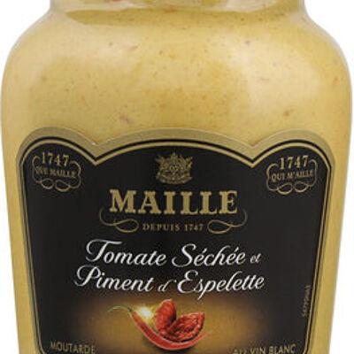 Maille moutarde tomate séchée et piment d'espelette 215g (Maille)