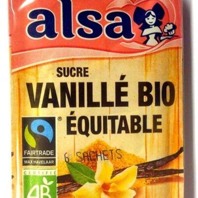 Sucre vanillé bio équitable (Alsa)