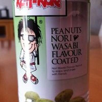 Peanuts nori wasabi flavour coated (Koh kae)
