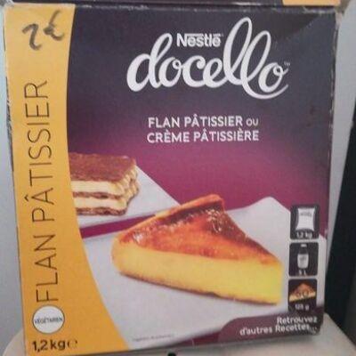 Flan pâtissier ou crème pâtissière (Docello)